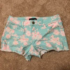 Forever21 - Floral Denim Shorts - Sz 27